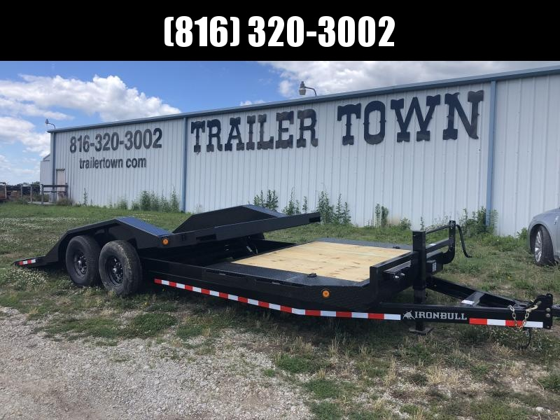 2020 IRON BULL 102X22 TILT LOPRO EQUIPMENT HAULER TRAILER
