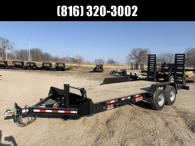 2021 B-B 83X20 EQUIPMENT HAULER TRAILER W/ 10K AXLES