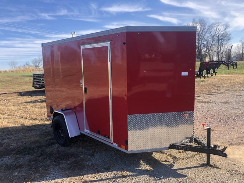 2021 UNITED 6x10x6 ENCLOSED CARGO TRAILER