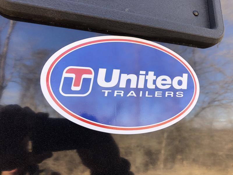 2021 UNITED 6x12x6 ENCLOSED CARGO TRAILER