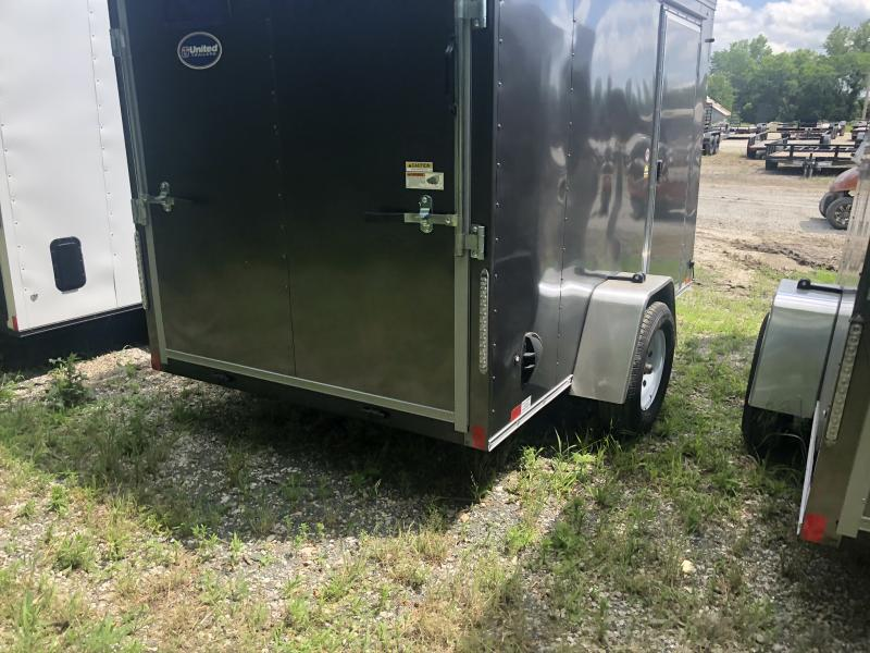2021 UNITED 6 X 10 X 6 ENCLOSED CARGO TRAILER