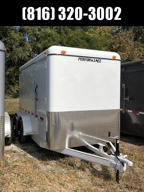 2020 PERFORMANCE 6 X 12 X 6.5 ENCLOSED CARGO TRAILER W/ STEEL SIDES