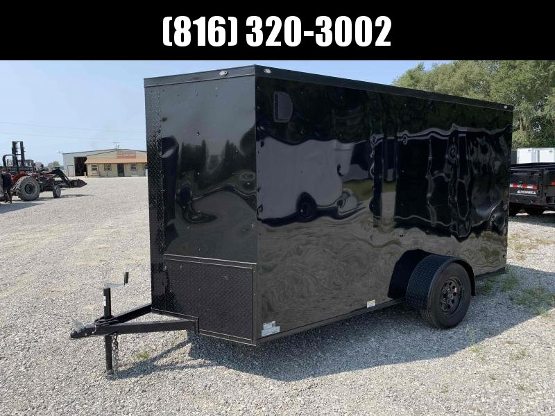 2022 A&R 6x12x6 ENCLOSED CARGO TRAILER W/ BLACKOUT PACKAGE