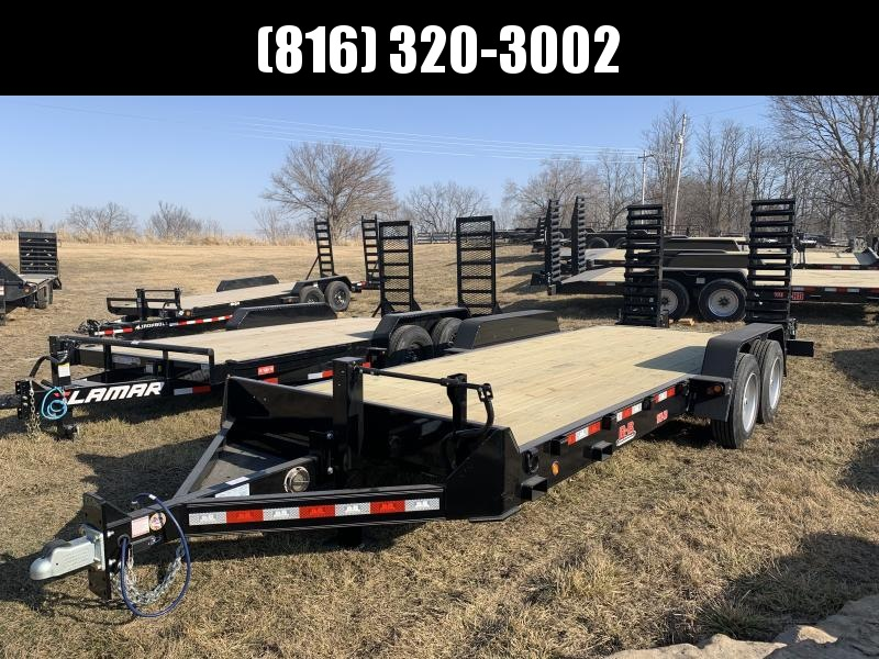 2021 B-B 83X20 EQUIPMENT HAULER TRAILER W/ 8K AXLES