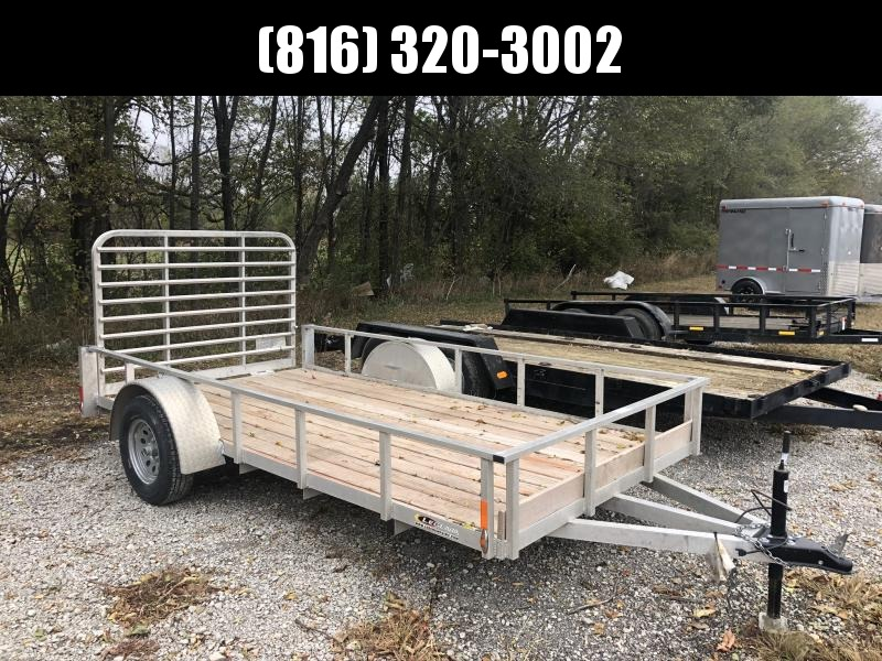 2019 USED LEGEND 6X12 ALL ALUMINUM UTILITY TRAILER