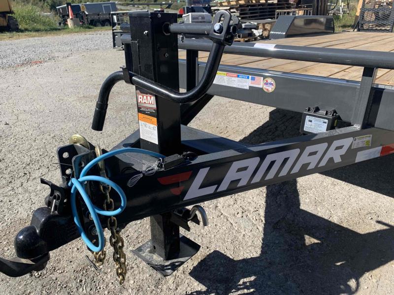 2021 LAMAR 83X18 EQUIPMENT TRAILER W/7K AXLES
