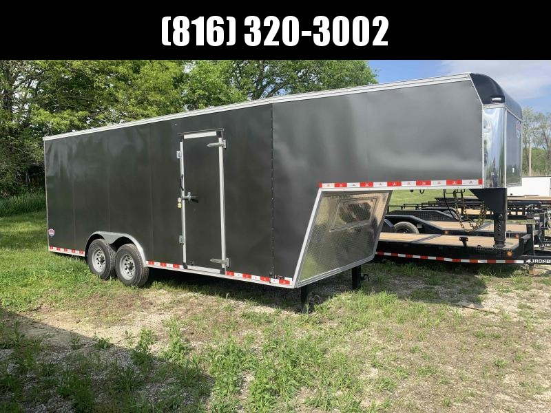 2021 UNITED 8.5 X 28 X 7 GOOSENECK ENCLOSED CARGO TRAILER