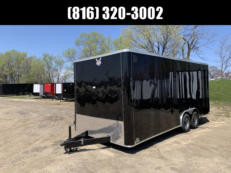 "2021 PATRIOT 8.5 X 20 X 7'6"" ENCLOSED CARGO TRAILER"