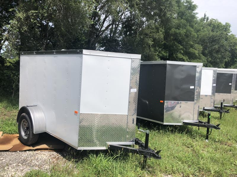 2020 ROCK SOLID 5 X 8 X 5 ENCLOSED CARGO TRAILER