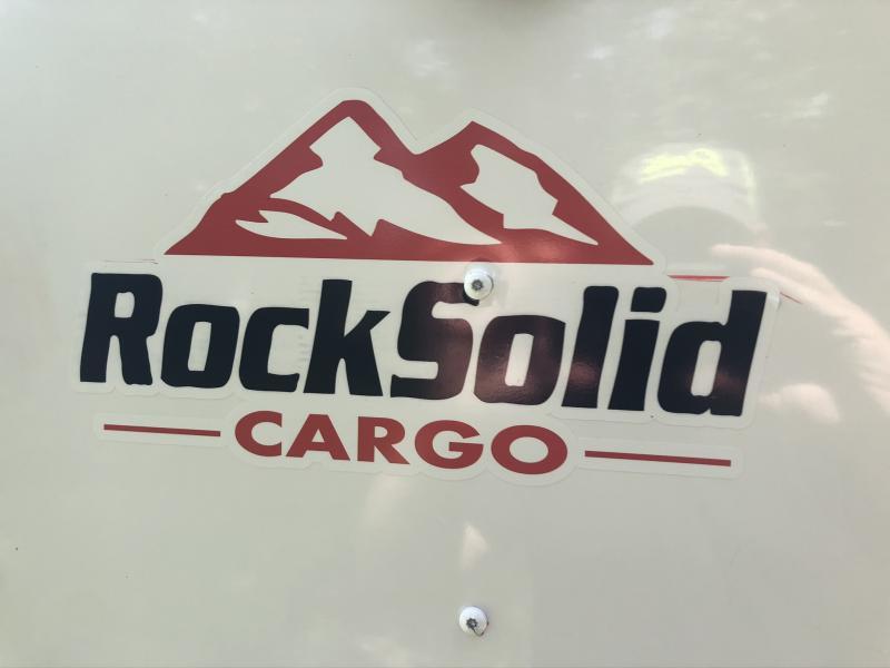 2020 ROCK SOLID 5 X 8 X 5 ENCLOSED CARGO TRAILER