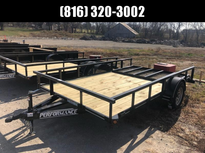 2020 PERFORMANCE 83 x 12 UTILITY TRAILER