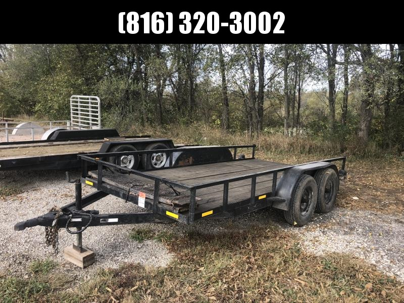 USED 2013 76X14 UTILITY TRAILER