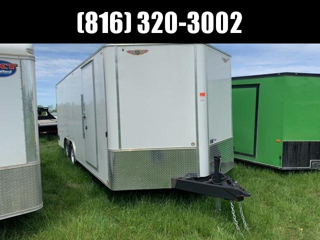 2020 H&H 8.5x20x7 ENCLOSED CARGO TRAILER