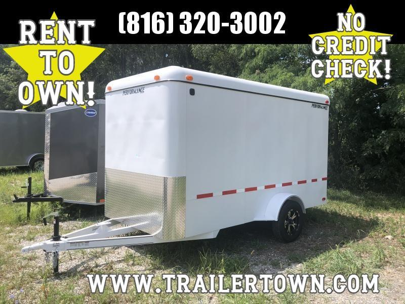 2020 PERFORMANCE 6 X 12 X 6.5 ENCLOSED CARGO TRAILER