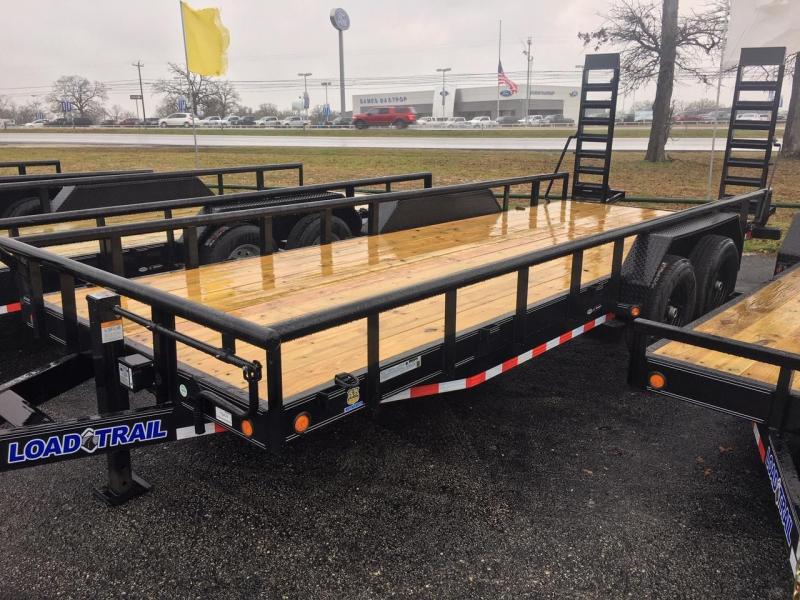"2020 Load Trail 83"" X 18' 14K Equipment Trailer w/ Fold-Up Ramps"