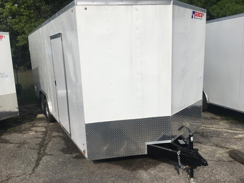 2020 Pace American 8 X 20 Enclosed Trailer 7K