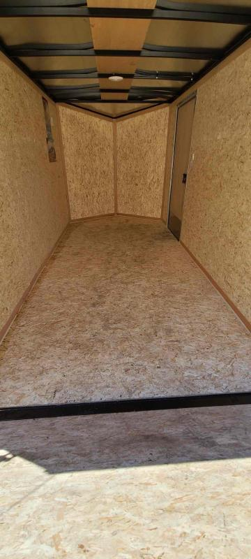 2022 Pace American 6' Wide x 12' Long V - Nose Outback Cargo Cargo / Enclosed Trailer With Electric Brakes