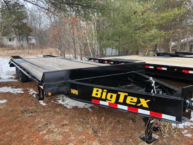 2021 Big Tex Trailers 14PH-20+5BK Equipment Trailer