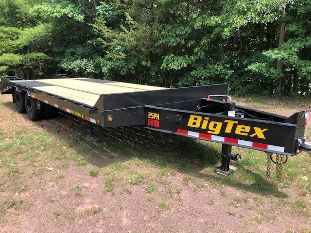 2021 Big Tex  25PH-25+5MR Equipment Trailer