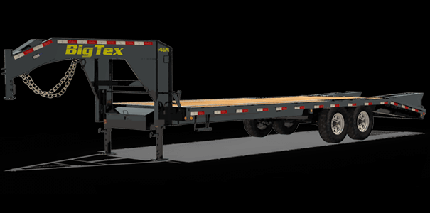 2021 Big Tex Trailers 14GN-20BK+5MR Equipment Trailer