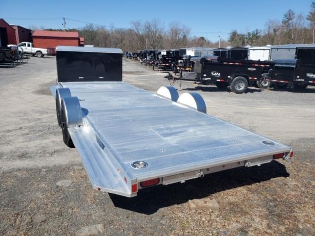 2021 Aluma 8222H-XL-TA-EL-R-RTD-CB Car / Racing Trailer