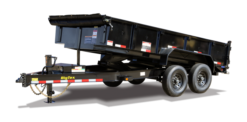2021 Big Tex Trailers 14LP-16BK Dump Trailer