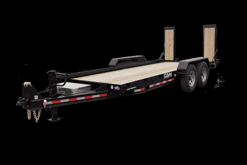 2021 Cam Superline 5 Ton Equipment Hauler Angle Trailer 8.5 x 18'