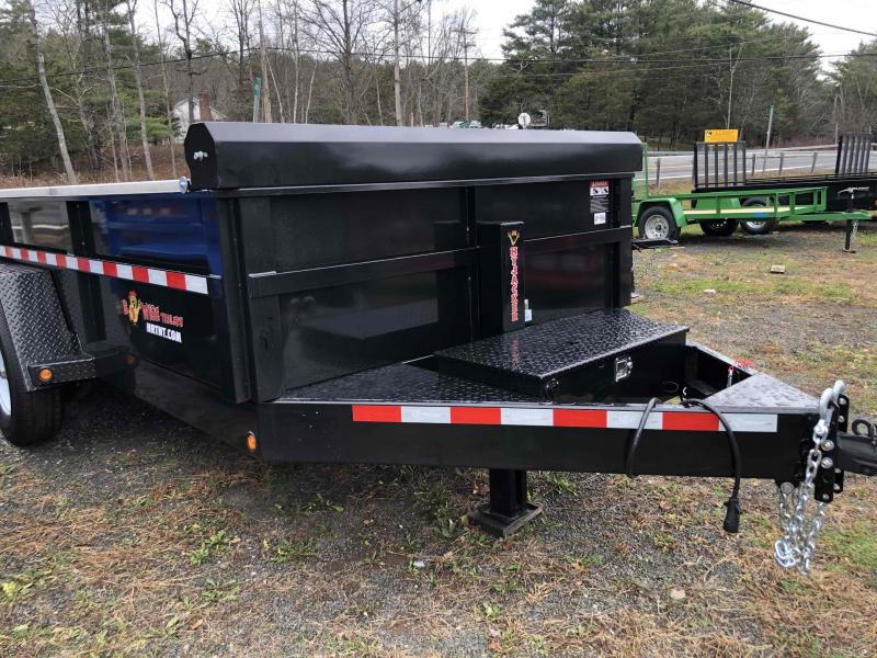 2019 B-Wise DLP14-15 Dump Trailer