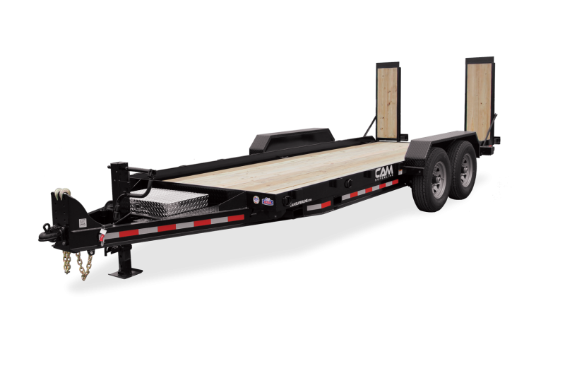 2021 Cam Superline 6 Ton Equipment Hauler Angle Trailer 8.5