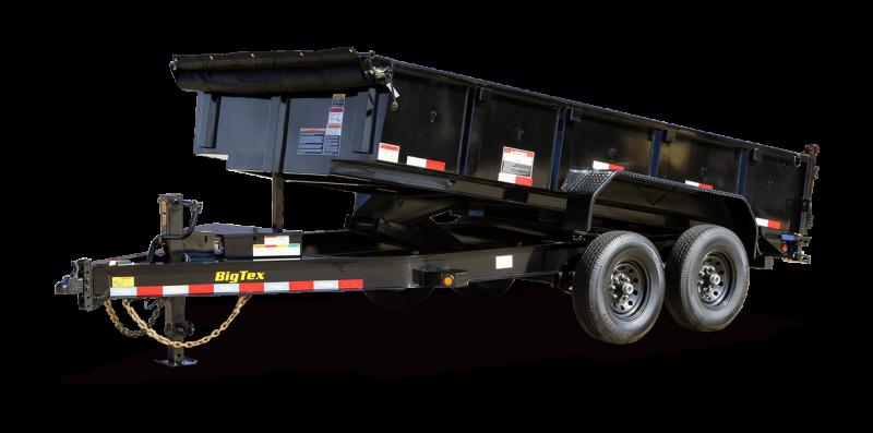 2022 Big Tex Trailers 14LP-14BK Dump Trailer
