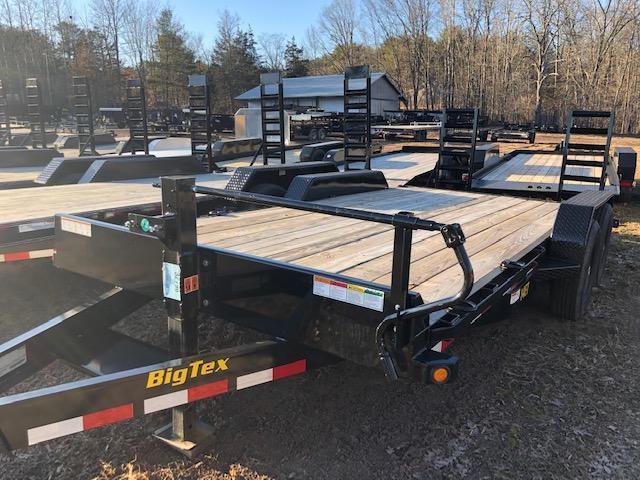 2021 Big Tex Trailers 14ET-18BK-KR Equipment Trailer