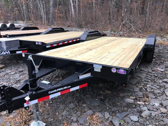 2021 Cam Superline 5 Ton Car Hauler Trailer 20FT Wood Deck