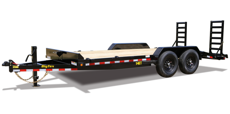 2022 Big Tex Trailers 14ET-18BK-MR Equipment Trailer