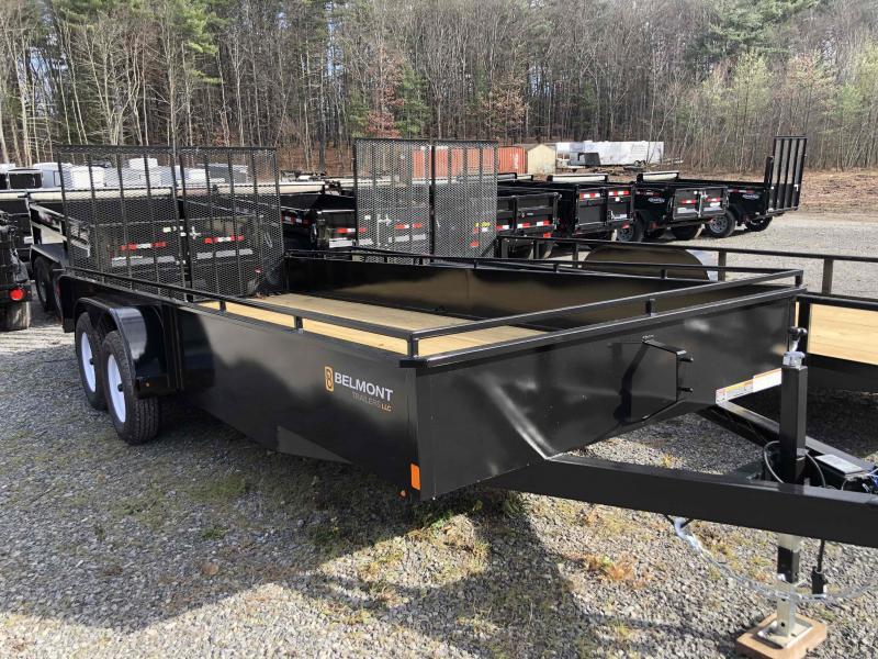 2021 Belmont Machine UT618TA-7K Utility Trailer