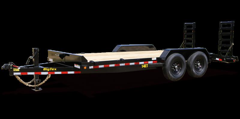 2022 Big Tex Trailers 14ET-16BK-KR Equipment Trailer