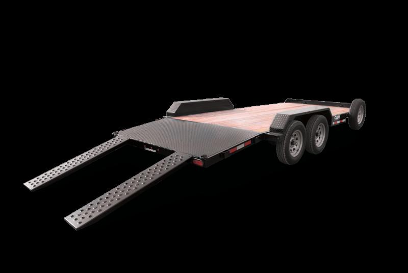 2021 Cam Superline 3.5 Ton Car Hauler Trailer 18FT Wood Dec