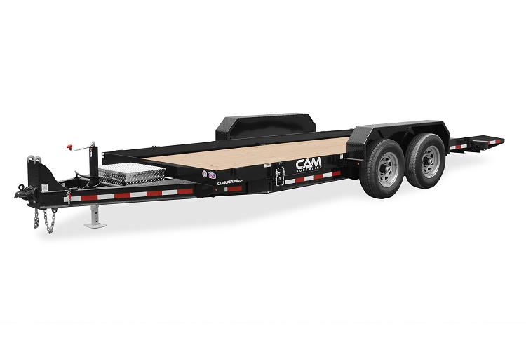 2021 Cam Superline 6 Ton 18' Deck Between Full Tilt Trailer