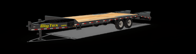2021 Big Tex 14PH-20BK+5 Equipment Trailer