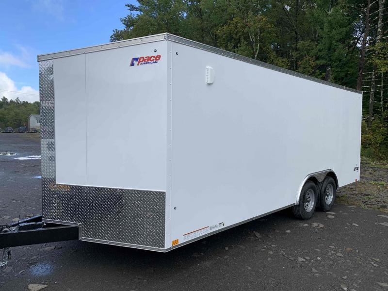 2022 Pace American JV85X20TE3SE Enclosed Cargo / Car Hauler Trailer 8.5' Wide x 20' Long + V-Nose 10k GVW