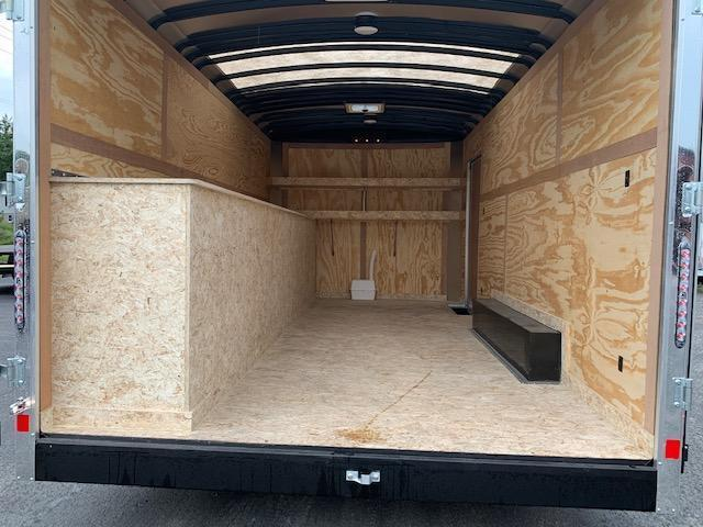 2022 US Cargo TSPP8516TA2 Enclosed Deluxe Contractor Trailer With Tool Crib Package