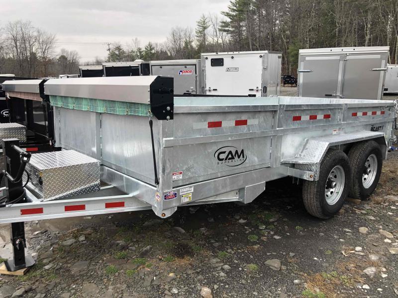2021 Cam Superline 7 Ton Low Profile Heavy Duty Dump Traile