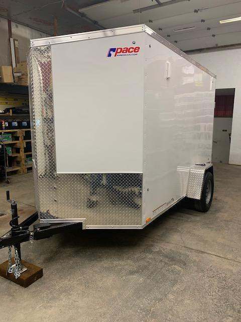 2021 Pace American JV6X10SE2SE-EB Enclosed Cargo Trailer