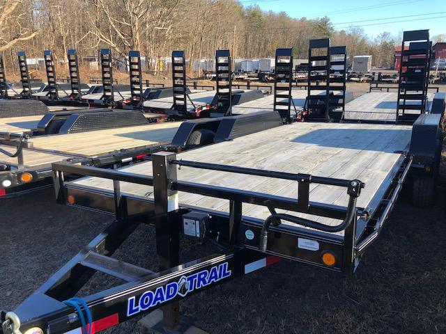 "2019 Load Trail 83"" X 18' Tandem Axle Carhauler Car / Racing Trailer"