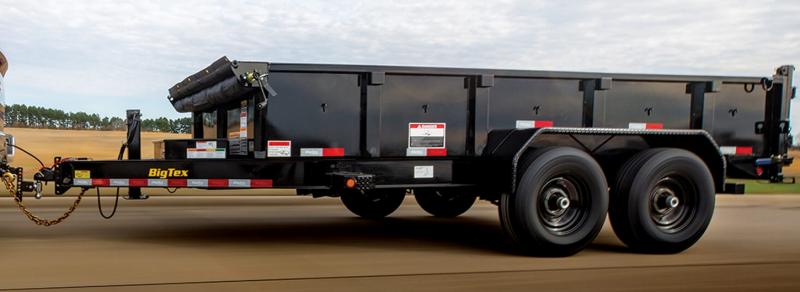 2021 Big Tex Trailers 14LP-14BK Dump Trailer