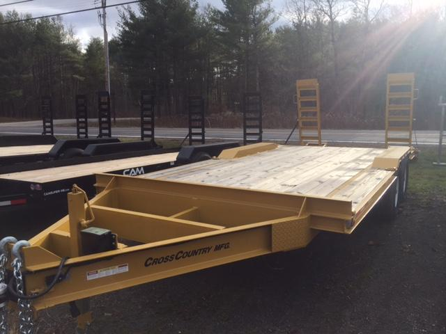 2016 Cross Country Manufacturing 6HD817SE Equipment Trailer