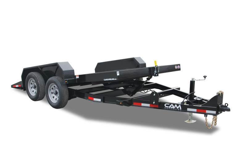 "2022 Cam Superline 5 Ton 81"" Wide x 12' Long Full Tilt Tandem Axle Deck Between Equipment Trailer"