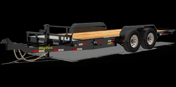 2020 Big Tex Trailers 14FT-20BK Equipment Trailer