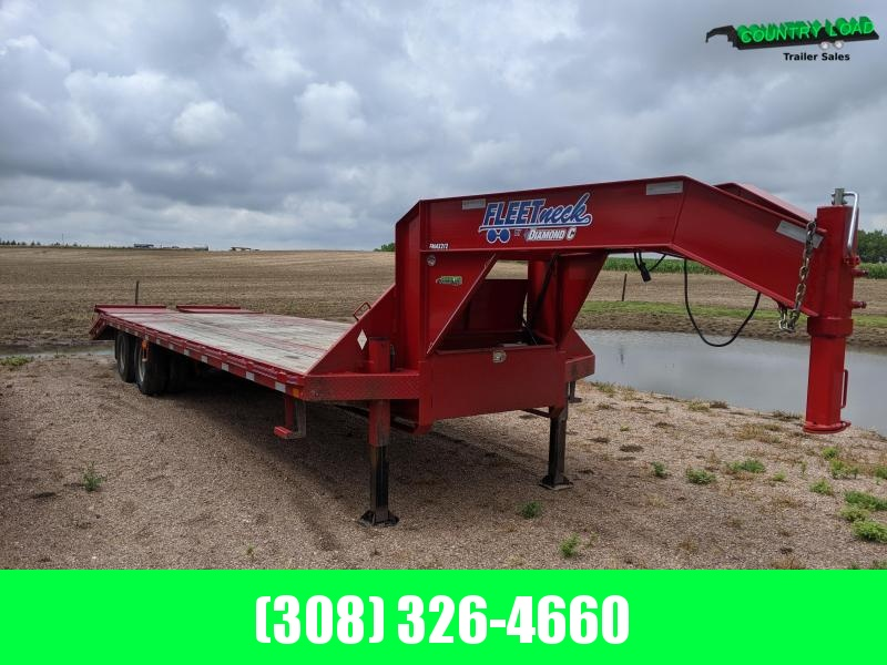 2017 Diamond C Trailers FMAX212 Flatbed Trailer