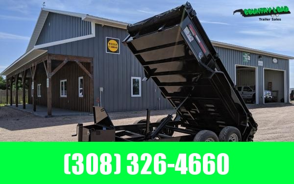 "2021 Diamond C EDM 77"" x 12' Dump Trailer"