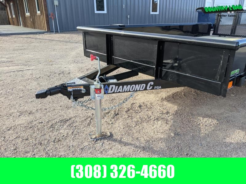 2021 Diamond C Trailers PSA 12x77